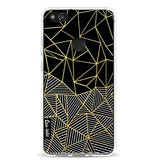 Casetastic Softcover Huawei P10 Lite - Abstraction Half Half Gold