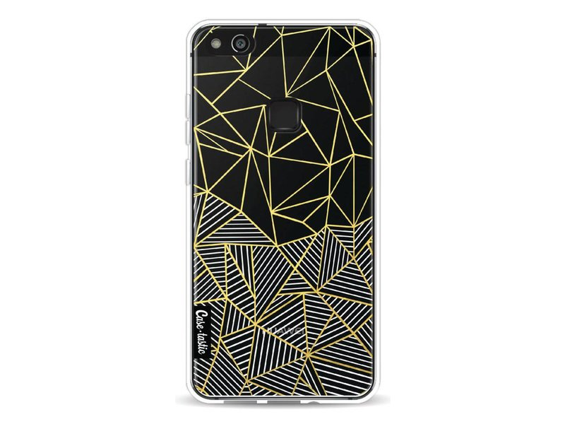 Casetastic Softcover Huawei P10 Lite - Abstraction Half Half Transparent
