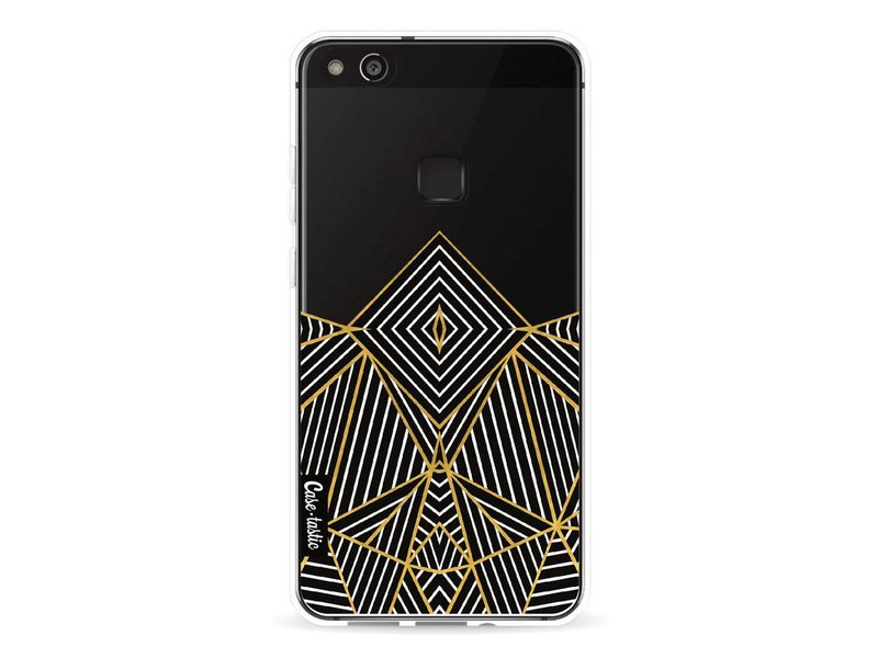 Casetastic Softcover Huawei P10 Lite - Abstraction Half Transparent