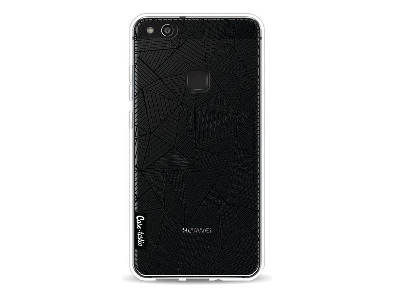 Casetastic Softcover Huawei P10 Lite - Abstraction Lines Transparent