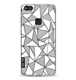 Casetastic Softcover Huawei P10 Lite - Abstraction Lines White