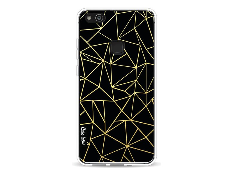 Casetastic Softcover Huawei P10 Lite - Abstraction Outline Gold