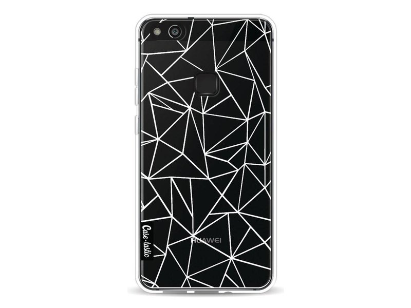 Casetastic Softcover Huawei P10 Lite - Abstraction Outline White Transparent