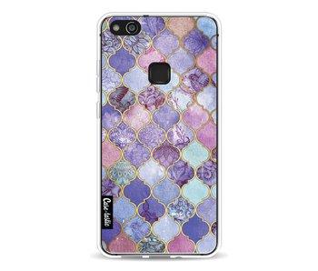 Purple Moroccan Tiles - Huawei P10 Lite