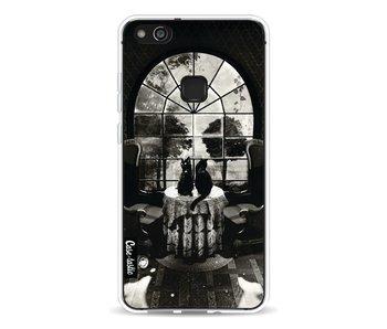 Room Skull BW - Huawei P10 Lite