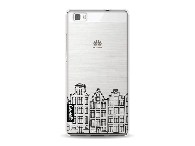 Casetastic Softcover Huawei P8 Lite - Amsterdam Canal Houses