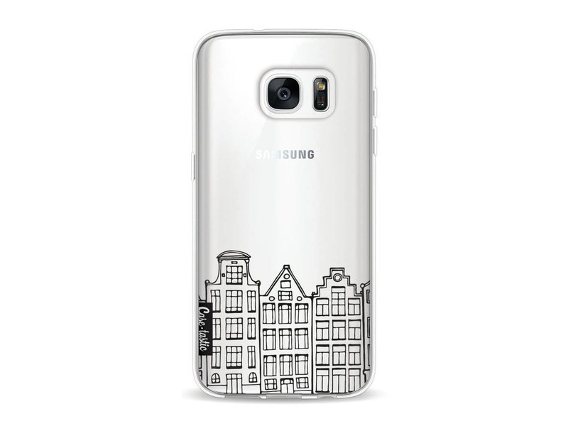 Casetastic Softcover Samsung Galaxy S7 - Amsterdam Canal Houses