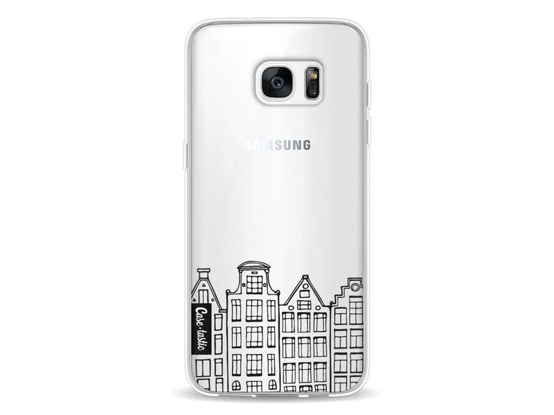 Casetastic Softcover Samsung Galaxy S7 Edge - Amsterdam Canal Houses