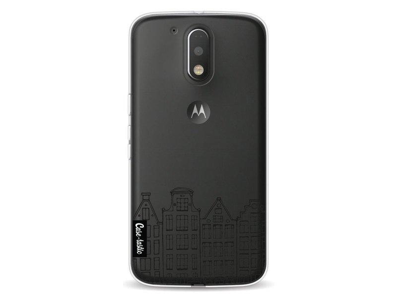 Casetastic Softcover Motorola Moto G4 / G4 Plus - Amsterdam Canal Houses