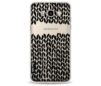 Missing Knit Black Transparent - Samsung Galaxy J5 (2016)
