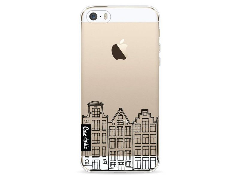 Casetastic Softcover Apple iPhone 5 / 5s / SE - Amsterdam Canal Houses