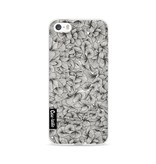 Casetastic Softcover Apple iPhone 5 / 5s / SE - Abstract Pattern Black
