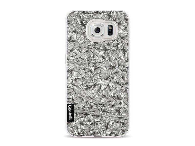 Casetastic Softcover Samsung Galaxy S6 - Abstract Pattern Black