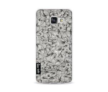 Abstract Pattern Black - Samsung Galaxy A3 (2016)