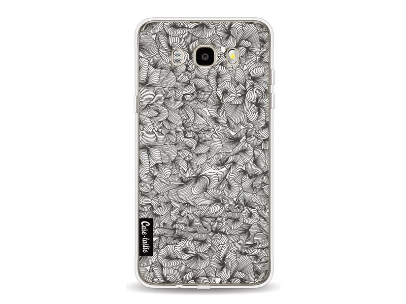 Casetastic Softcover Samsung Galaxy J5 (2016) - Abstract Pattern Black