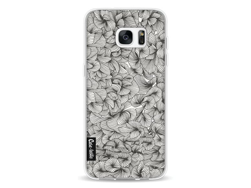 Casetastic Softcover Samsung Galaxy S7 Edge - Abstract Pattern Black