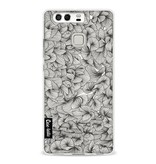 Casetastic Softcover Huawei P9  - Abstract Pattern Black