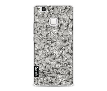 Abstract Pattern Black - Huawei P9 Lite