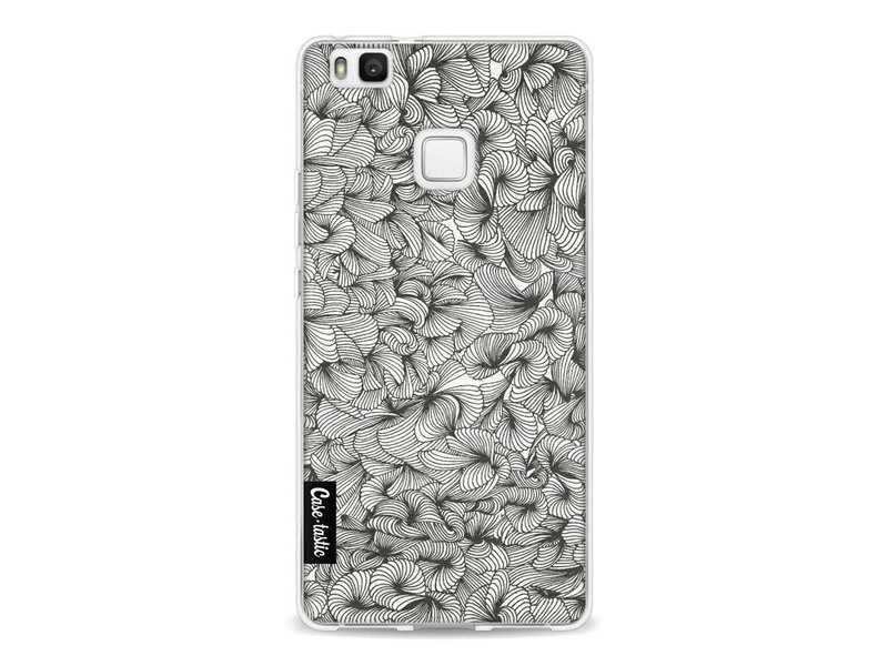 Casetastic Softcover Huawei P9 Lite - Abstract Pattern Black