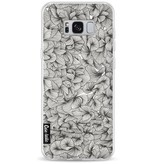 Casetastic Softcover Samsung Galaxy S8 Plus - Abstract Pattern Black