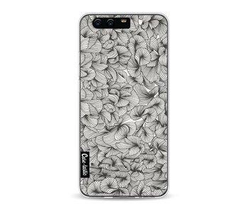 Abstract Pattern Black - Huawei P10