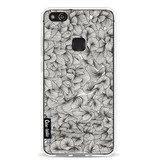 Casetastic Softcover Huawei P10 Lite - Abstract Pattern Black