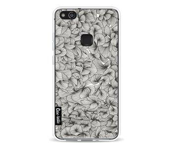 Abstract Pattern Black - Huawei P10 Lite