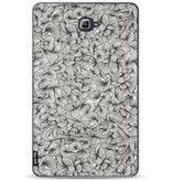 Casetastic Softcover Samsung Galaxy Tab A 10.1 (2016) - Abstract Pattern Black