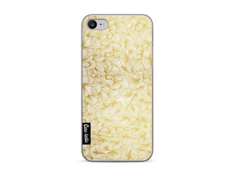 Casetastic Softcover Apple iPhone 7 - Abstract Pattern Gold
