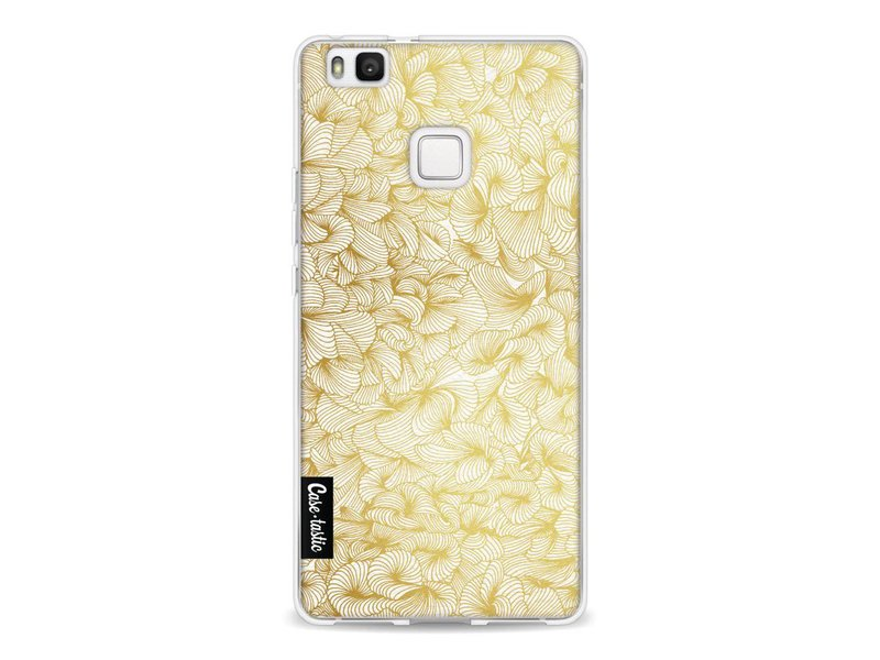 Casetastic Softcover Huawei P9 Lite - Abstract Pattern Gold