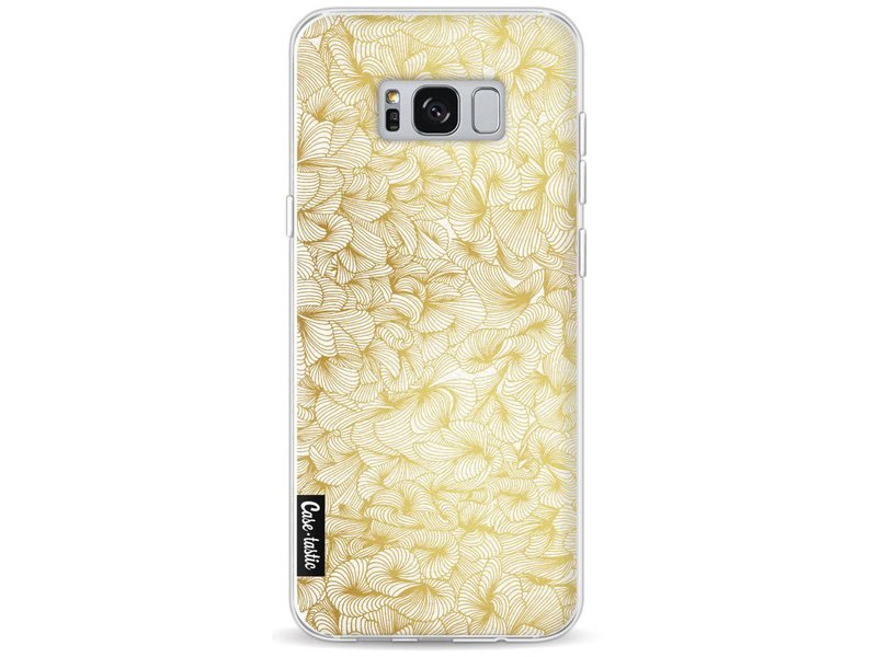 Casetastic Softcover Samsung Galaxy S8 Plus - Abstract Pattern Gold