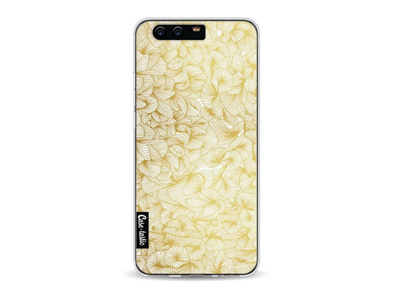 Casetastic Softcover Huawei P10 - Abstract Pattern Gold
