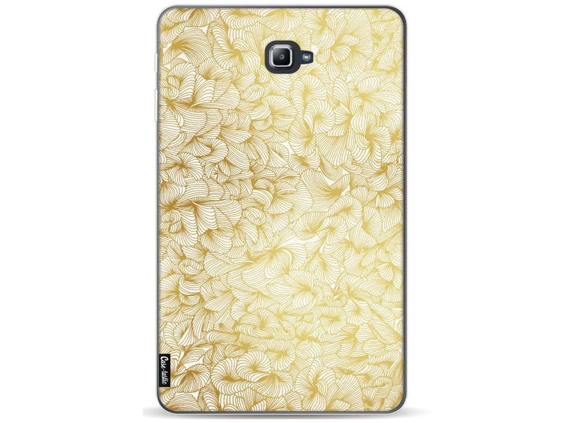 Casetastic Softcover Samsung Galaxy Tab A 10.1 (2016) - Abstract Pattern Gold