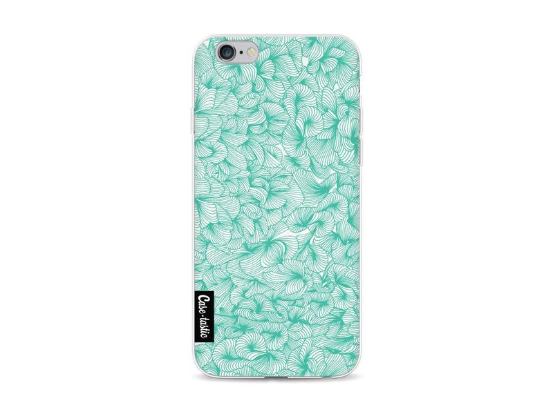 Casetastic Softcover Apple iPhone 6 / 6s - Abstract Pattern Turquoise