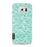 Casetastic Softcover Samsung Galaxy S6 - Abstract Pattern Turquoise