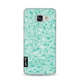 Casetastic Softcover Samsung Galaxy A3 (2016) - Abstract Pattern Turquoise