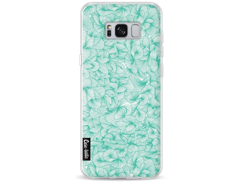 Casetastic Softcover Samsung Galaxy S8 Plus - Abstract Pattern Turquoise