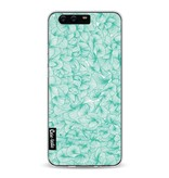 Casetastic Softcover Huawei P10 - Abstract Pattern Turquoise
