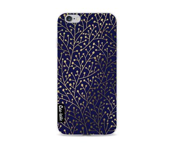 Berry Branches Navy Gold - Apple iPhone 6 / 6s