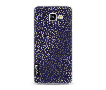 Berry Branches Navy Gold - Samsung Galaxy A5 (2016)