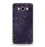 Casetastic Softcover Samsung Galaxy J5 (2016) - Berry Branches Navy Gold