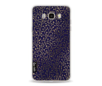 Berry Branches Navy Gold - Samsung Galaxy J5 (2016)