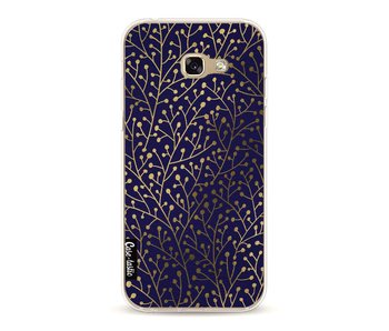 Berry Branches Navy Gold - Samsung Galaxy A5 (2017)