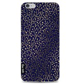 Casetastic Softcover Apple iPhone 6 Plus / 6s Plus - Berry Branches Navy Gold