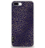 Casetastic Softcover Apple iPhone 7 Plus - Berry Branches Navy Gold