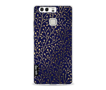 Berry Branches Navy Gold - Huawei P9