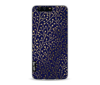 Berry Branches Navy Gold - Huawei P10