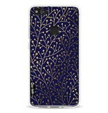 Casetastic Softcover Huawei P10 Lite - Berry Branches Navy Gold