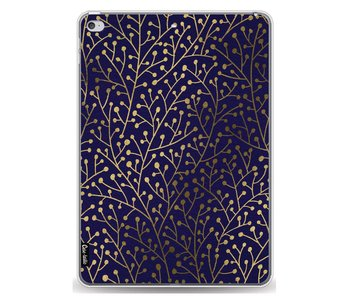 Berry Branches Navy Gold - Apple iPad Air 2