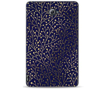 Berry Branches Navy Gold - Samsung Galaxy Tab A 10.1 (2016)